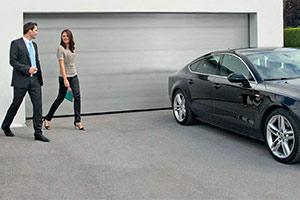 секционные гаражные ворота Alutech